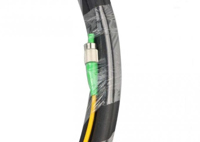 FTTP 2 Core Optical Fiber Cable , Multimode Outdoor Optical Fiber Cable