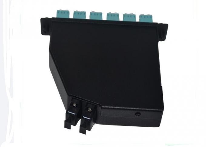 24 Core MPO Patch Cord MPO / MTP - LC Fiber Optic Patch Panel For  Test Equipment