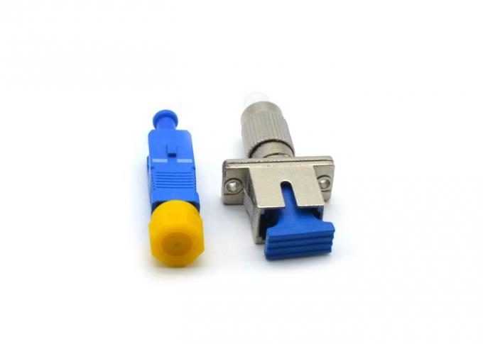 FC - SC Fiber Optic Attenuator 1 - 30dB FTTH Converter With Metal / Plastic Housing