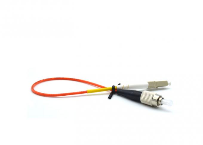 Multimode LC-FC Fiber Optic Patch Cord Simplex LSZH Fiber Patch Cord For FTTH