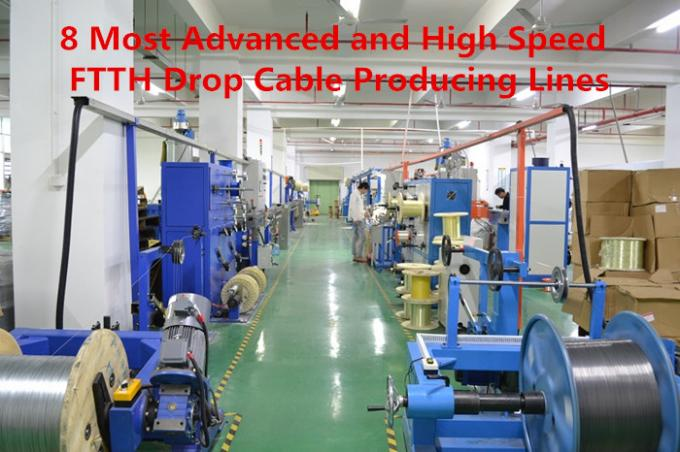 1core/2 core,/4core,/6core/8core/10core/12core FTTH cable with FRP strength member GYXFTPY optical fiber for telecommuni