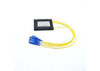China Box Type Fiber Optic PLC Splitter Stability 2x16 Splits For CATV System supplier