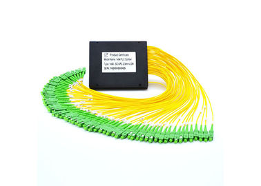 China Small Size Optical Cable Splitter , High Reliability Fiber Optic Splitter  For FTTH supplier