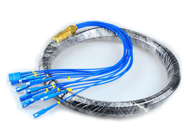 China CATV Network Optical Fiber Pigtail 12 Core Fiber Outdoor SC Pigtail Waterproof supplier