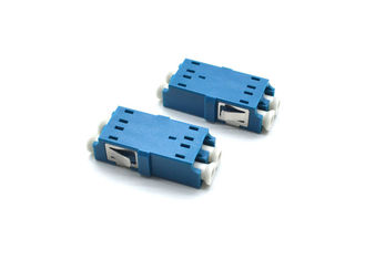 China Optic LAN Fiber Optic Adapter Zirconia Sleeve Duplex Single Mode LC - UPC Adapter supplier