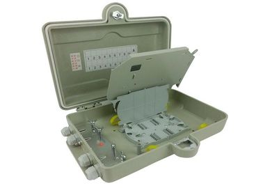 China IP67 Optical Distribution Frames 16 Ports Wall Lock Box For FTTH Access Network supplier