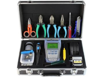 China FTTh Fiber Optic Tools Black Fiber Optic Splicing Tools Kits Waterproof Junction Box supplier