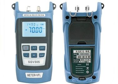 China Auto - Off SC / FC Visual Fault Locator , 6 Wavelength Optical Power Meter supplier