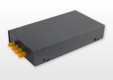 China ST SM Metal Fibre Distribution Frame , 4 Port 4 Core Optical Fiber Termination Box supplier