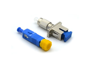 China FC - SC Fiber Optic Attenuator 1 - 30dB FTTH Converter With Metal / Plastic Housing supplier