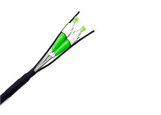 China FTTA Armored Patch Cable Single Mode Duplex Patch Cord For 3G 4G Wireless Network supplier