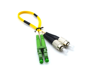 China Duplex Patch Cord Fiber Optic Cable Patch Cord LSZH FTTH 0.9mm / 2.0mm / 3.0mm supplier