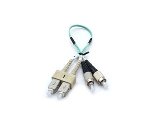 China Duplex 0M3 LC-FC Fiber Optic Patch Cord Optical Cable LSZH FTTH Patch Cord supplier