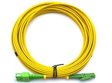 China E2000 APC To SC APC Duplex Fiber Optic Cable OS2 Single Mode 2.0mm Bend Insensitive supplier