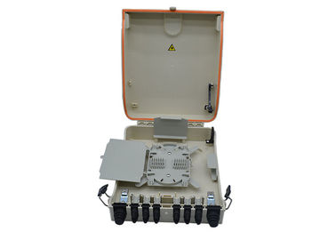 Plastic IP55 Ftth Terminal 144FO Optical Distribution Box