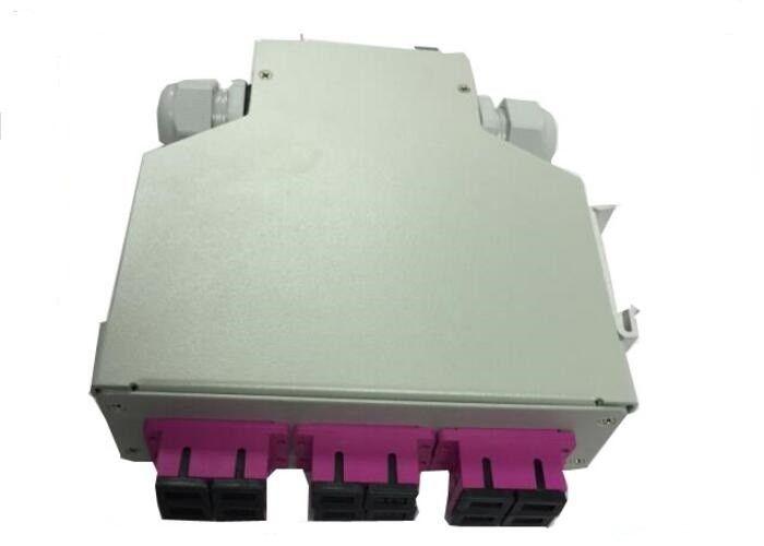 Din Rail Fiber Optic Distribution Box 12 Fibers Inside