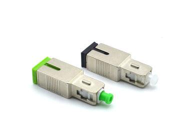 Fixed Optical Attenuator Male To Female , SCAPC / SCUPC Optical Fiber Attenuator