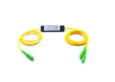 China Dual Window SC / APC ABS Box Type FBT fiber optic splicing 1m Fiber lenght factory