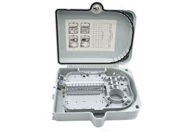 China IP65 24 core Fiber Optic Distribution Box , fiber optic cable junction box factory