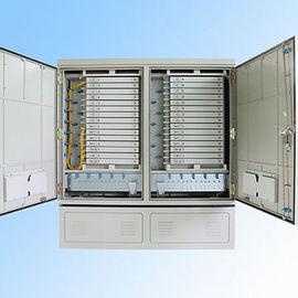 IP 65 576FO Street Fiber Optic Joint Box Cabinet Stainless steel SMC Housing