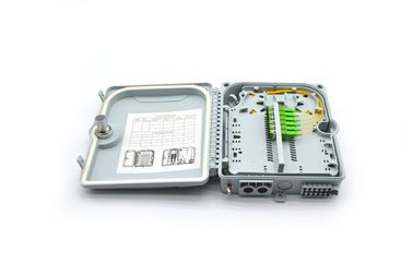 China FTTH 12 Core Fiber Optic Termination Box ABS 1*12 Distribution HIKINGBOX factory