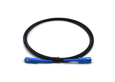 1 Core Drop Cable Fiber Optic Patch Cord 2.0mm * 3mm With Sc / Upc Connector